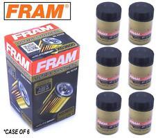 6-PACK - FRAM Ultra Synthetic Oil Filter - Top of the Line - FRAM's Best XG3600