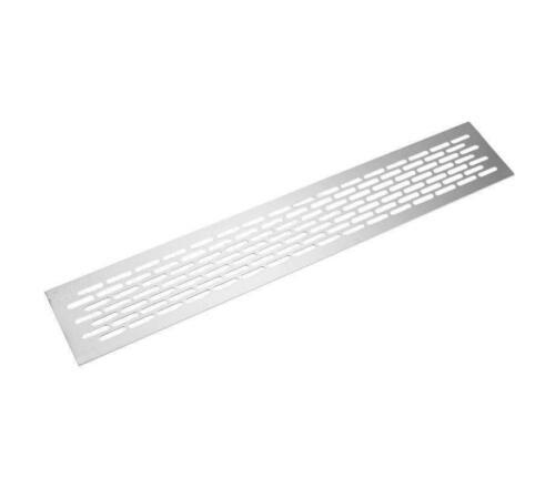 Aluminium Air Vent Grille 480 mm x 80 mm métal Appareils encastrés cover