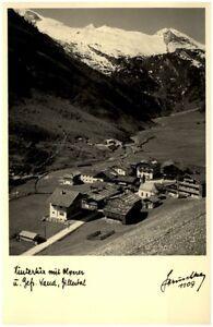 Zillertal-Tirol-Postkarte-1950-60-Hinterux-mit-Olperer-und-gefrorene-Wandspitze