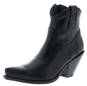 Negro 15521 donna Boots Sendra Stivaletti da neri R4v7q