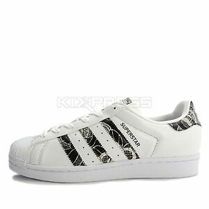 Image is loading Adidas-Superstar-W-BB0531-Original-Casual-White-Black-