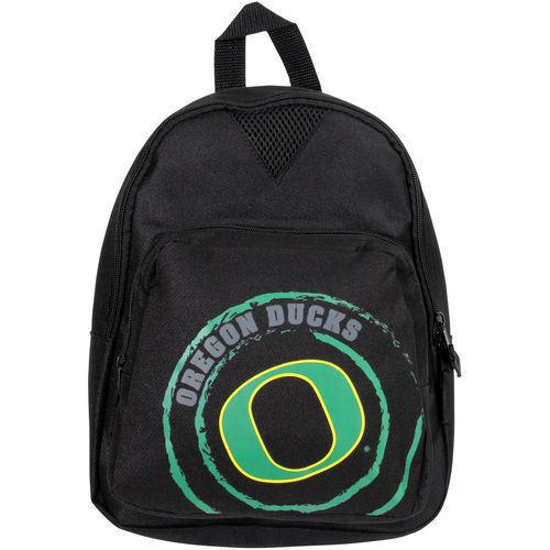 Oregon Ducks Black Offense Mini Backpack
