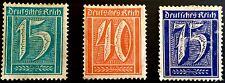 ANTIQUE RARE COLLECTIBLE SET OF WEIMAR REPUBLIC GERMAN GERMANY POSTAGE STAMPS