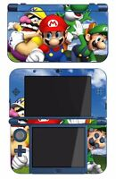 Super Mario 3d World Game Skin For The Nintendo 3ds Xl Console