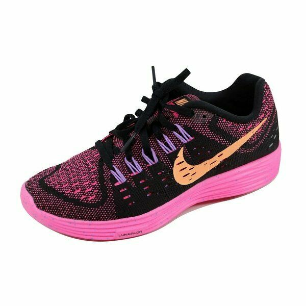 sale retailer 8ec8f 93613 WMNS Nike Lunartempo Black Pink Orange Womens Running Shoes SNEAKERS  705462-008 6.5 for sale online   eBay