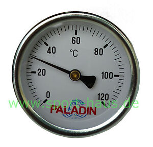 paladin thermometer f r r ucherofen bis 120 c 1 2 zoll anschluss ebay. Black Bedroom Furniture Sets. Home Design Ideas