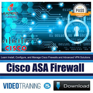 Details about Cisco ASA Firewall Video Training Course DOWNLOAD