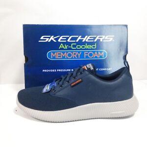 Caricamento dell immagine in corso Scarpe-Skechers-Uomo-Depth-Charge-Trahan- Blu-Navy- d2cda5d8019