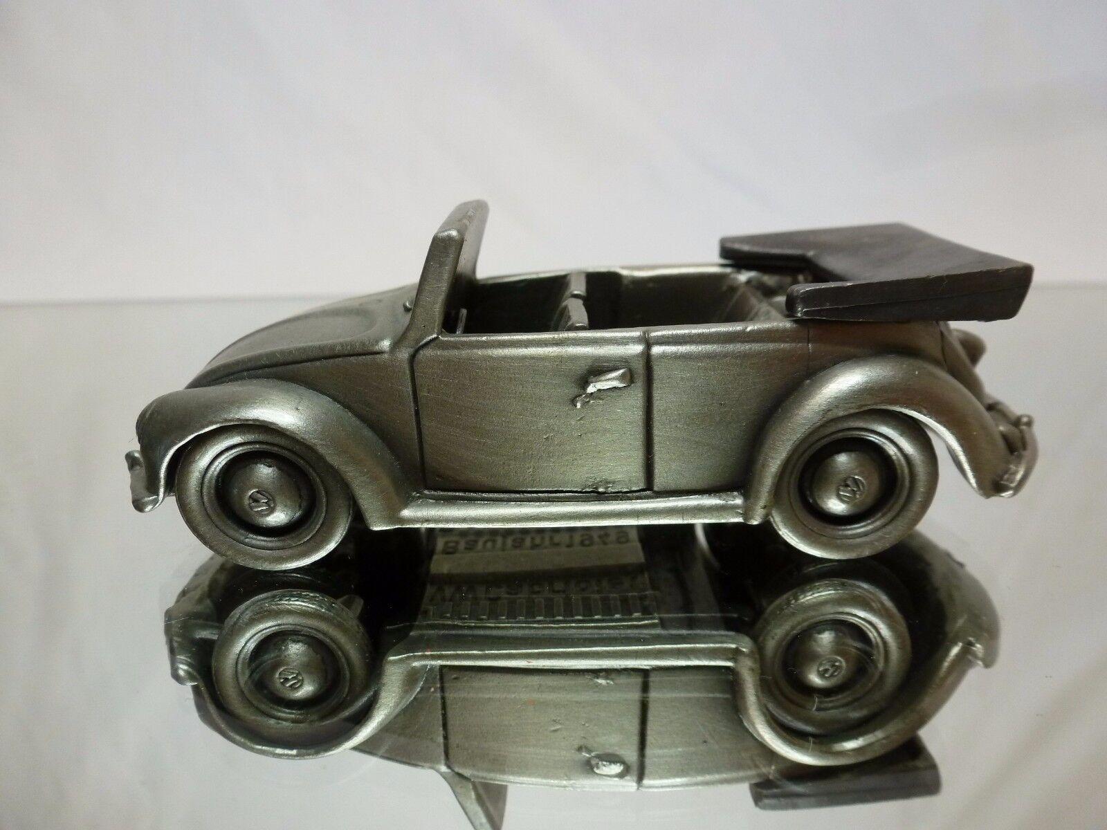 TIN METAL GERMANY VW VOLKSWAGEN BEETLE CABRIOLET CABRIOLET CABRIOLET 1949 - 1 43 - GOOD CONDITION 4b91e9