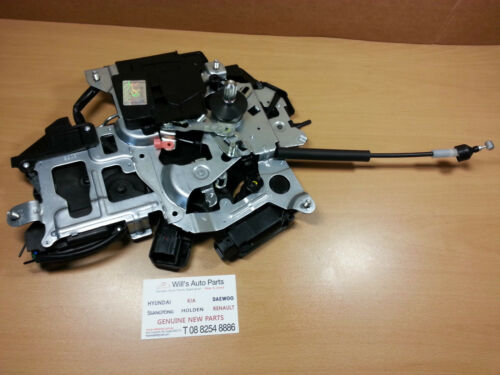 GENUINE NEW DOOR ACTUATOR POWER SLIDING LH REAR SUIT KIA GRAND CARNIVAL 20072014