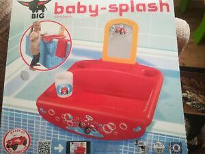 Kinder-Waschbecken-Big-Baby-Splash-fuer-die-Badewanne-Neu