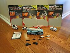 Defensor ~ 1986 Vintage Hasbro G1 Transformers Free Ship WITH CARDBACKERS LOOK