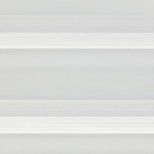 Duo Rollo mit Blende Doppelrollo Weiß Seitenzugrollo Kettenzugrollo Jalousie