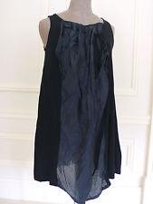 Nanori Nero Coreano-Giapponese Street Fashion Blogger Stile Tunica Abito M/L