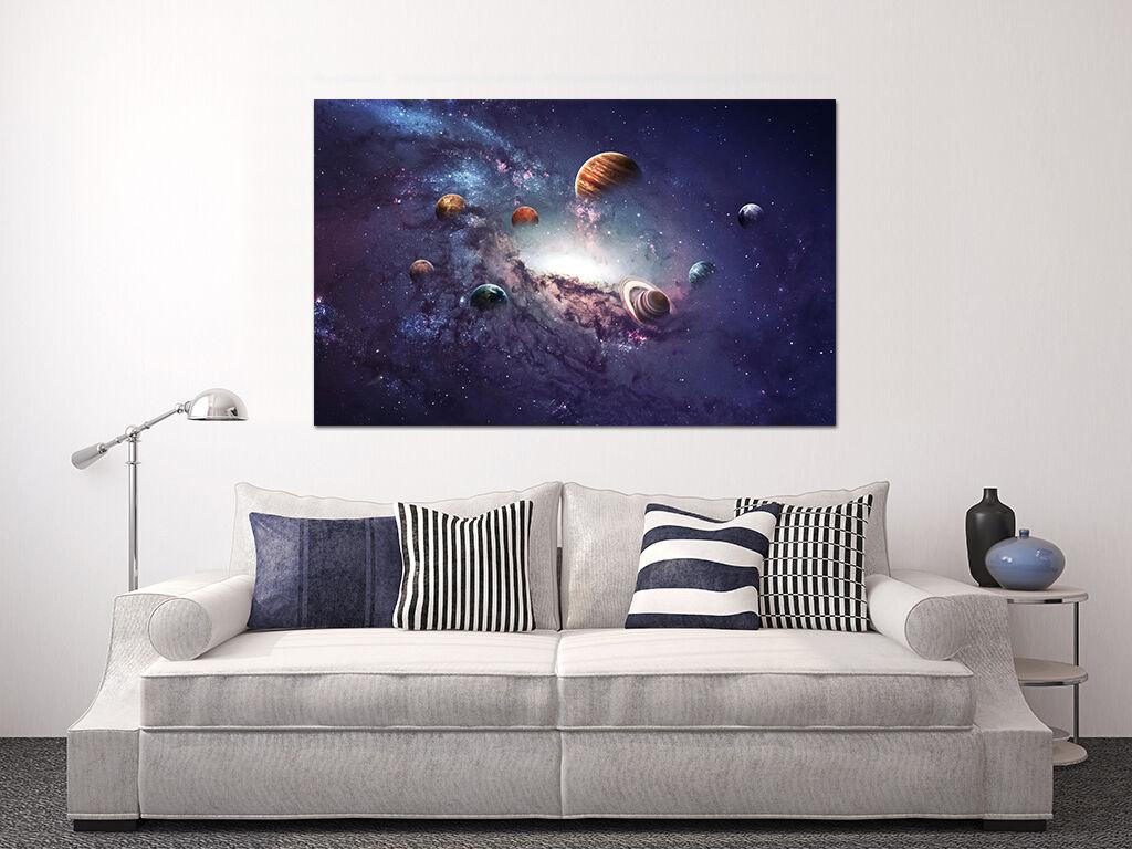 3D Schöne Universum Planeten Fototapeten Wandbild BildTapete Familie AJSTORE DE