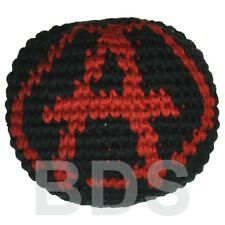 Anarchy Red Black Guatemalan Footbag Cotton Foot Bag Hacky Sack New HS13