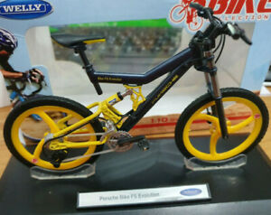 Bicicletta-Bike-Porsche-Bike-FS-Evolution-Scala-1-10-Die-Cast-Welly-Nuova