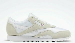 realce Poesía puenting  Reebok Classic Nylon White Light Grey Womens Casual Athletic Shoes Sizes 6  - 12 | eBay
