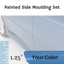 """Painted 1.25"""" Body Side Moulding Set for Honda Civic Coupe (Factory Finish)"""