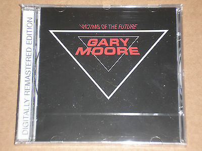 GARY MOORE - VICTIMS OF THE FUTURE - CD REMASTERED SIGILLATO (SEALED)
