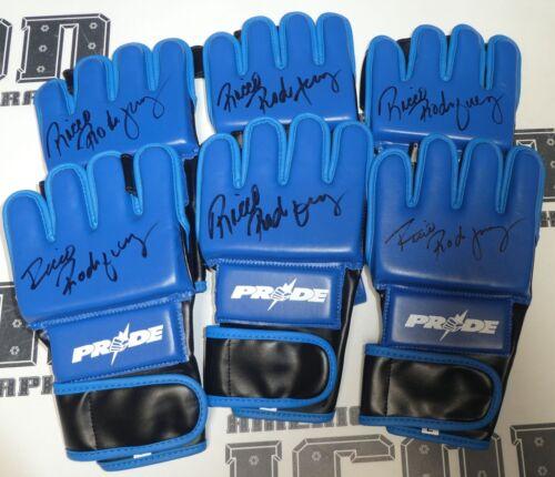 Ricco Rodriguez Signed Replica Pride FC Fight Glove BAS Beckett COA Autograph 9