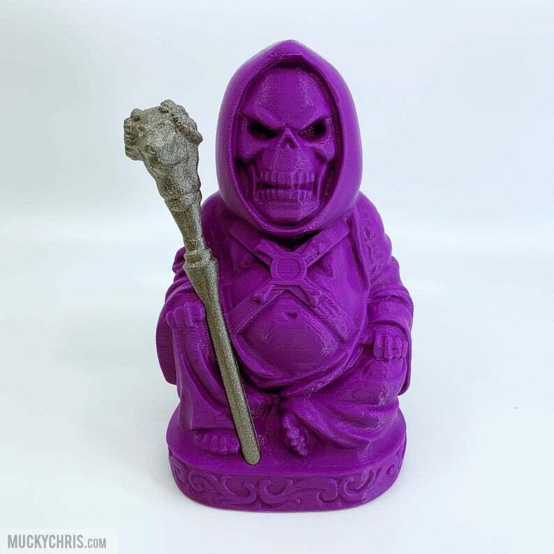 Skeletor Buddha   Masters of the universe   Heuomo