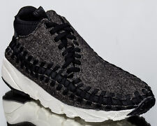 Nike Air Footscape Woven Chukka SE men lifestyle shoes NEW black 857874-001