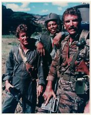 Magnum PI Color Still featuring TC Magnum Rick Selleck Mosley Larry Manetti Nam