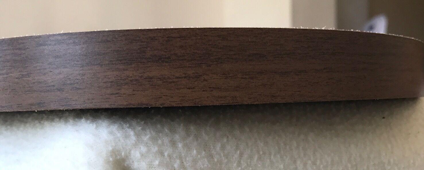 Pre Glued Iron On Melamine 22mm Edging Banding Tape Various Colours Designs
