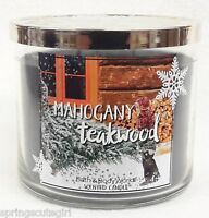 1 Bath & Body Works Mahogany Teakwood 3-wick Scented 14.5oz Large Candle