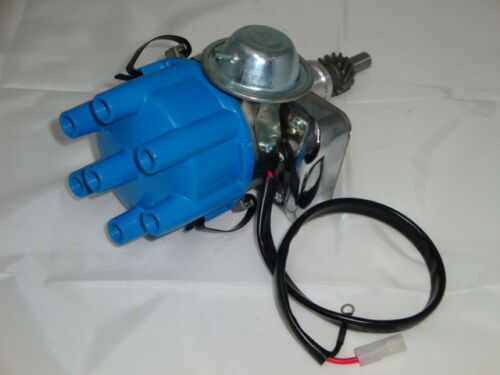 Ford 6 250 2v 225 pursuit 6 cyl electronic distributor and coil and leads