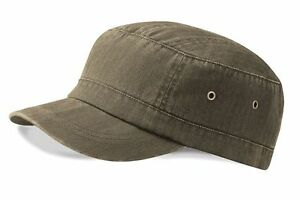 02fad81f8ea528 beechfield urban army cap (b38) 3 colours vintage black olive stone