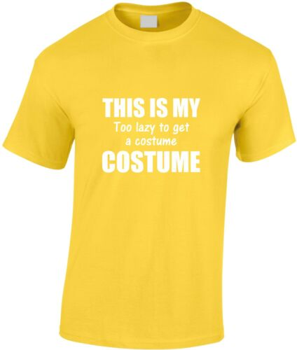 This Is My Too Lazy Costume Children/'s T-Shirt Tired Energy Tee Cool Xmas Gift