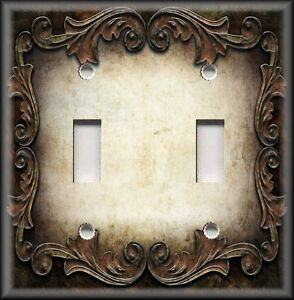 Image Is Loading Metal Light Switch Plate Cover Victorian Gothic Decor