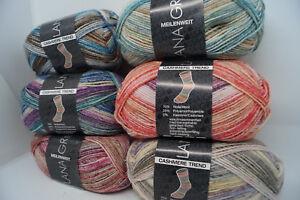 Lana-Grossa-Meilenweit-50-Cashmere-Trend-4fach-Sockenwolle-50g-210m