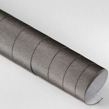 9,59€/m² 5x DIN A4 Selbstklebend Möbel DEKO Folie Alu Gebürstet Antrazit