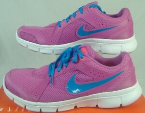 fcc46efe9429 New Womens 11 NIKE Flex Experience RN 2 Pink Blue White Run Shoes ...