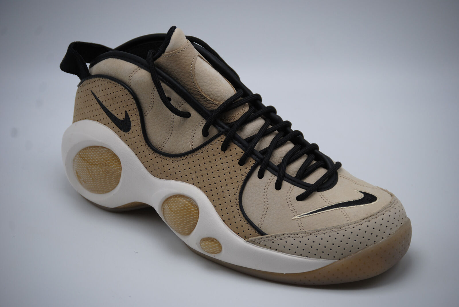 9c2e5d9c589b59 Nike Air Zoom Flight 95 Mens Size 9.5 Black Mushroom Sail 941943 001 ...