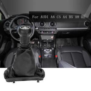 5-Speed-Gear-Shift-Knob-Gear-Stick-Gaiter-Boot-Kit-for-AUDI-A6-C5-A4-B5-A8-L1P7