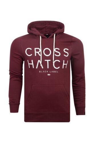 Crosshatch Herren Designer Klatty Vintage oder Outstrip Pullover Weich Fleece