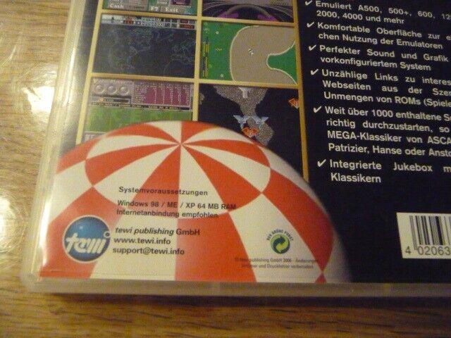 Amiga Emulator Box, til pc, anden genre