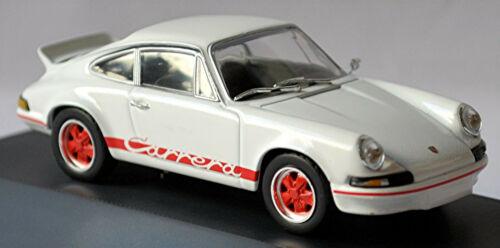 Porsche 911 Carrera RS Coupe 1973 weiss white 1:43 Norev