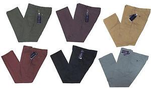 295-RALPH-LAUREN-Purple-Label-Homme-Italie-Casual-Chino-kaki-robe-pantalon-Slacks