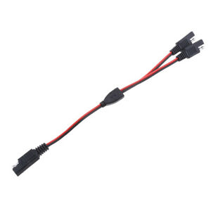 3 Way 18AWG SAE Plug Extension Adapters Charger Cables For Solar Batteries