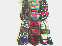 Womens Slipper Socks Dollhouse 2 Pack Peds 9-11 Gripper Dots Qty Discount