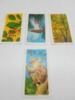 *** RED ROSE TEA ~ 1970s BROOK BOND FOODS CARDS - 4 Series