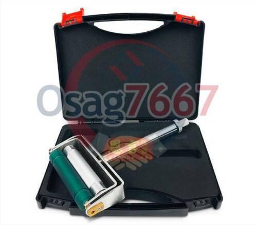 New Hand Proofer Ink Proofer Chrome Anilox /& Rubber Roller Manual Ink Proofer