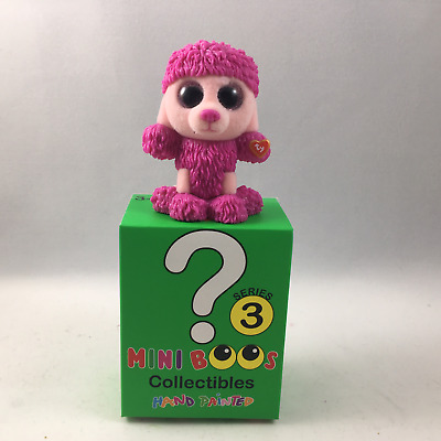 """TY Mini Beanie Boos Series 3 PATSY Poodle Vinyl Figure Hand Painted 2018 NEW 2/"""""""