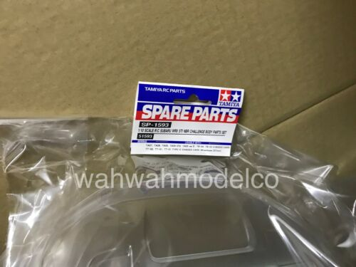 Tamiya 1:10 Subaru WRX STI NBR Challenge Clear Body For 257mm Wheelbase #51593