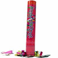 3x Large (12 Inch) Confetti Cannons Air Compressed Party Poppers Celebration